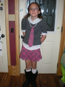 "Daughter's ""Preppy"" Outfit"