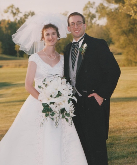 That's us - 15 years ago today!