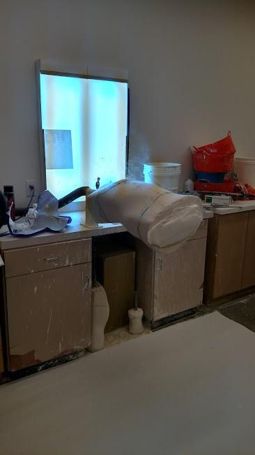 plaster-mold